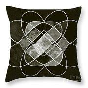 Elemetal Matrix Throw Pillow