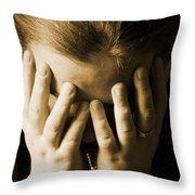 Elena Hands Throw Pillow