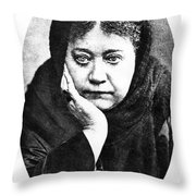 Elena Petrovna Blavatsky Throw Pillow