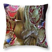 Elephant Joy Throw Pillow