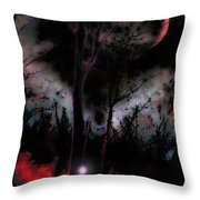 Elfenfeuer Throw Pillow by Mimulux patricia no No