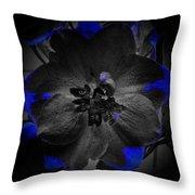Elfin Princess With Dash Of Blue Throw Pillow