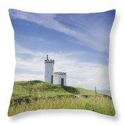 Elie Lighthouse Throw Pillow