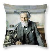 Elie Metchnikoff (1845-1916) Throw Pillow