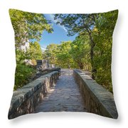 Eliot Memorial Bridge Throw Pillow