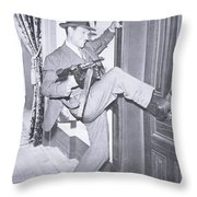Eliot Ness Throw Pillow