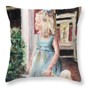 Elizabeth Anne Throw Pillow