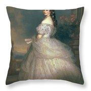 Elizabeth Of Bavaria Throw Pillow