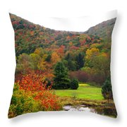Elk Country Pennsylvania Throw Pillow