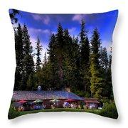 Elkins Resort II Throw Pillow
