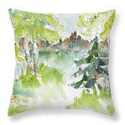 Elkridge Greens Throw Pillow