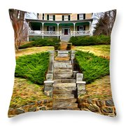 Ellicott City House Throw Pillow