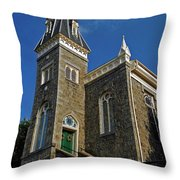 Ellicott City Steeple Throw Pillow