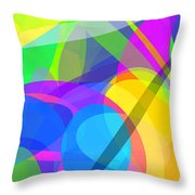 Ellipses 10 Throw Pillow