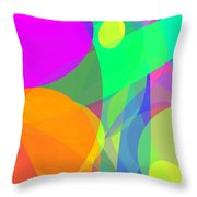 Ellipses 12 Throw Pillow