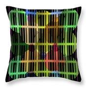 Ellipses Spheres Segmented Throw Pillow