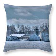 Elma Barn 14944a Throw Pillow