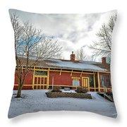 Elma Depot Throw Pillow
