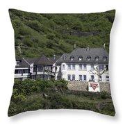 Elsenburg Haus Ymca Throw Pillow