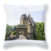 Eltz Castle Throw Pillow