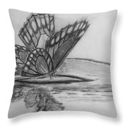 Elusive Beauty Throw Pillow