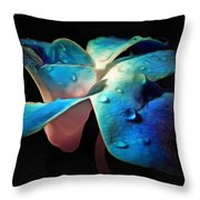 Elusive Orchid Throw Pillow