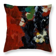 Elusive Panel 1 Throw Pillow by Vickie Warner