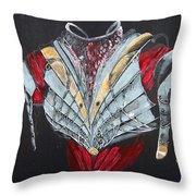 Elven Armor Throw Pillow