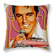 Elvis-an American Classic Throw Pillow