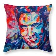 Elvis Presley Throw Pillow