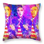 Elvis Presley Jail House Rock 20160520 Horizontal Throw Pillow