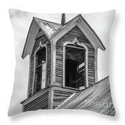 Ely Vermont Barn 1899 Barn Cupola Throw Pillow