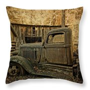 Ely's Mill Dodge Throw Pillow
