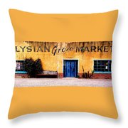 Elysian Grove Market 1 Throw Pillow