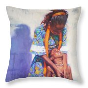 Emancipation Throw Pillow