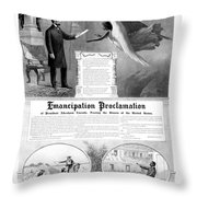 Emancipation Proclamation Throw Pillow