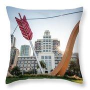 Embarcadero Bow And Arrow Throw Pillow