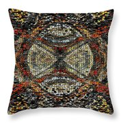 Embellished Texture Throw Pillow