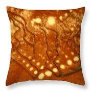 Embers - Tile Throw Pillow