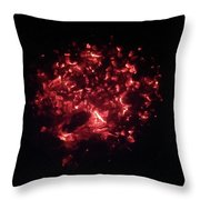 Embers Glow Throw Pillow