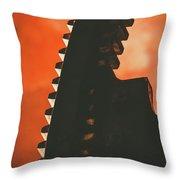Ember's Revolution Throw Pillow
