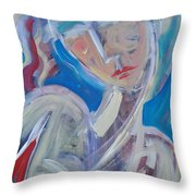 Embrace Me Throw Pillow