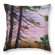 Embrace Of Dawn Throw Pillow