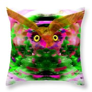 Embrace The Wind Throw Pillow