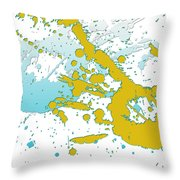 Embracing Passions Throw Pillow