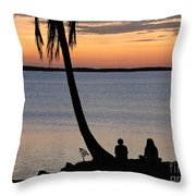 Embracing The Moment Throw Pillow