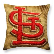 Embroidered Stl Throw Pillow