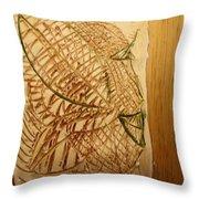 Emerald - Tile Throw Pillow