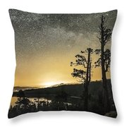 Emerald Arch - Eagle Falls Throw Pillow