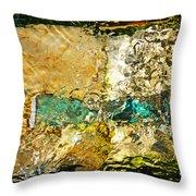 Emerald Bow Throw Pillow